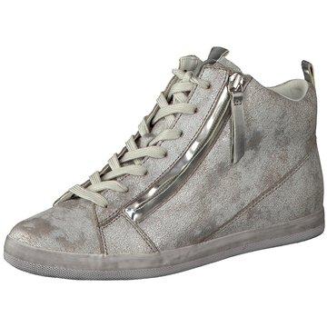 Gabor Sneaker High silber
