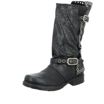 A.S.98 Modische Stiefel schwarz