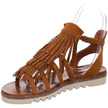 La Femme Plus Modische Sandaletten braun