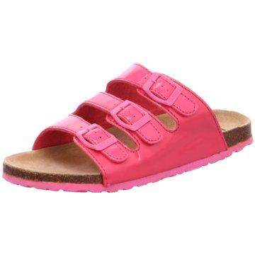 Softwaves Klassische Pantolette pink