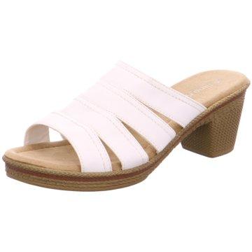 Jane Klain Plateau Pantolette weiß