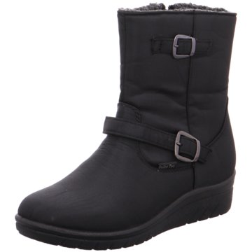 Hengst Footwear Keilstiefelette schwarz