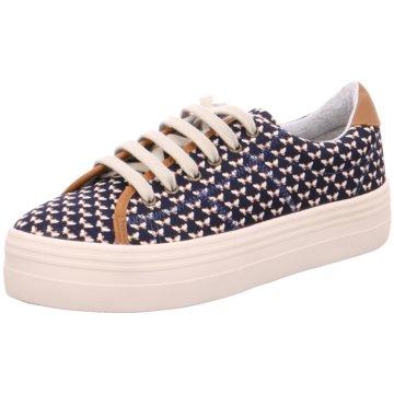 No Name Sneaker Low blau