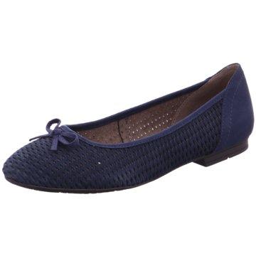 Soft Line Klassischer Ballerina blau
