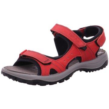 Imac Komfort Sandale rot