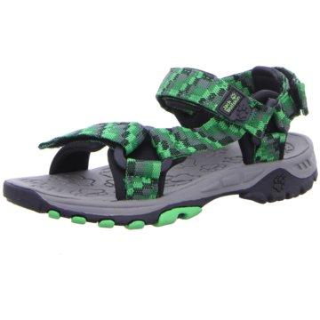JACK WOLFSKIN Offene Schuhe grün