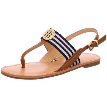 Tommy Hilfiger Modische Sandaletten braun