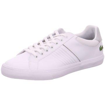 Lacoste Sneaker Sports weiß