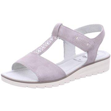 Soft Line Komfort Sandale grau