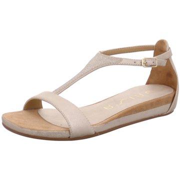 Unisa Modische Sandaletten gold