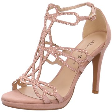 Alma en Pena Modische High Heels rosa