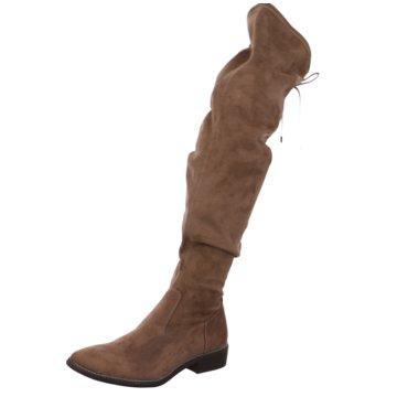 Tamaris Overknee Stiefel beige
