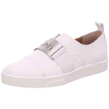 Calvin Klein Klassischer Slipper weiß