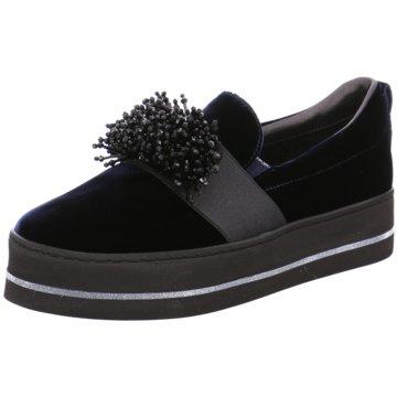 Maripé Modische Slipper schwarz