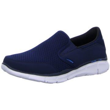 Skechers Slipper blau