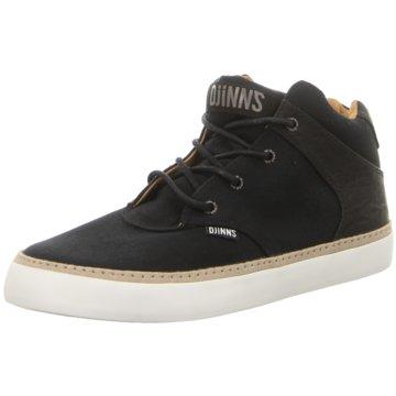 Djinns Sneaker High schwarz