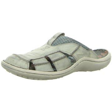 KRISBUT Komfort Slipper grau