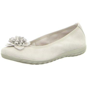 Caprice Klassischer Ballerina weiß
