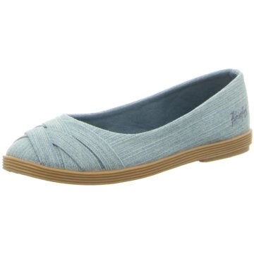Blowfish Klassischer Slipper blau