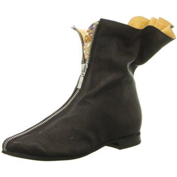 Papucei Klassische Stiefelette schwarz