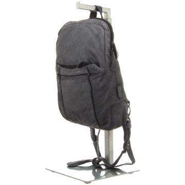 Voi Leather Design Rucksack schwarz