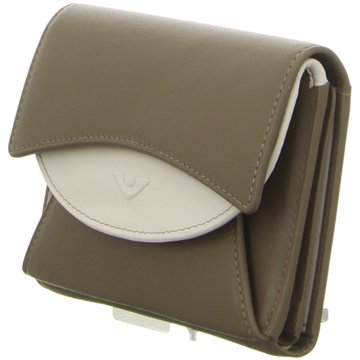 Voi Leather Design Geldbörse braun