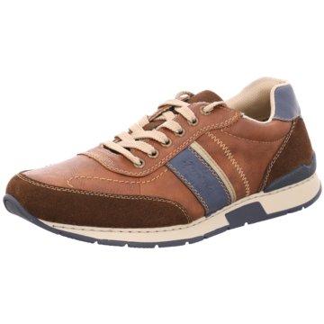 Rieker Sneaker Low braun