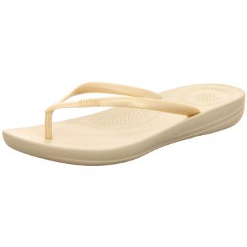 Fit Flop Bade-Zehentrenner beige