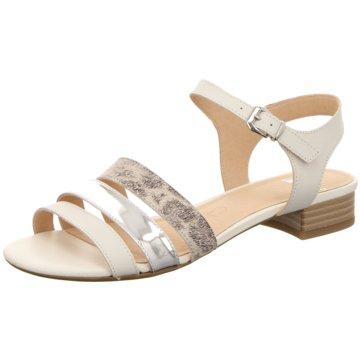 Caprice Sandale silber