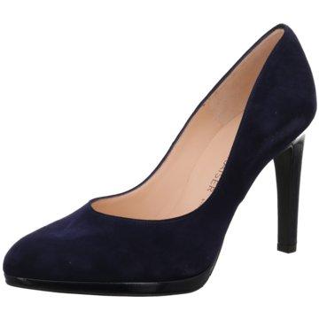 Peter Kaiser Modische High Heels blau