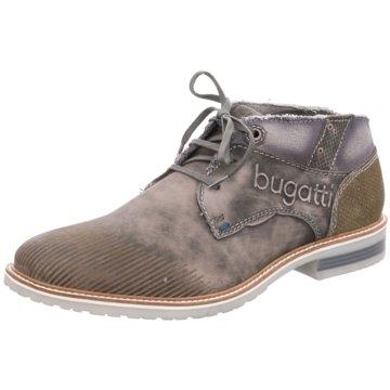 Bugatti Schnürstiefelette grau