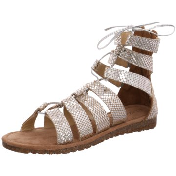 Lazamani Modische Sandaletten silber