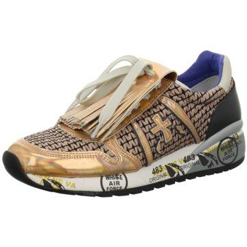 Premiata Modische Sneaker gold