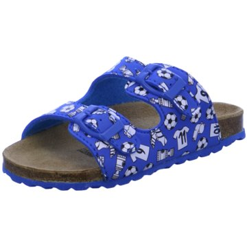 Softwaves Pantolette blau