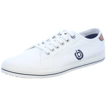 Bugatti Sneaker Low weiß