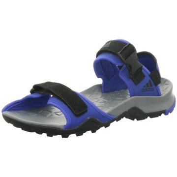 adidas Trekkingsandale blau