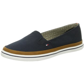 Tommy Hilfiger Modische Slipper blau