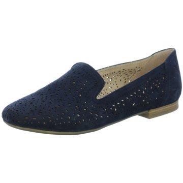 Caprice Klassischer Slipper blau