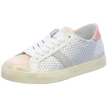 D.A.T.E. Modische Sneaker grau