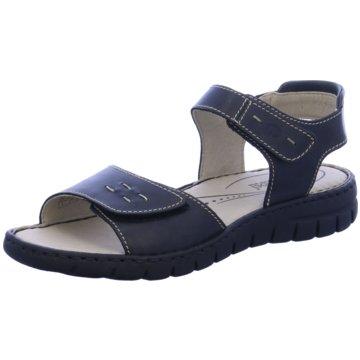 Josef Seibel Komfort Sandale schwarz