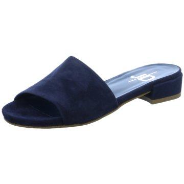 The Seller Klassische Pantolette blau