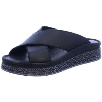 Tamaris Plateau Pantolette schwarz
