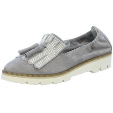 Maripé Modische Slipper grau