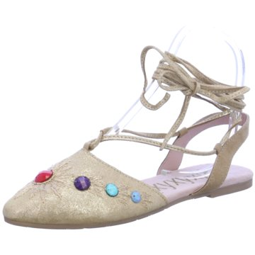 xyxyx Modische Ballerinas beige