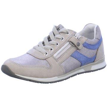 Zebra Sneaker Low grau