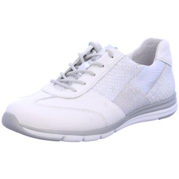 Gabor Komfort Schnürschuh weiß