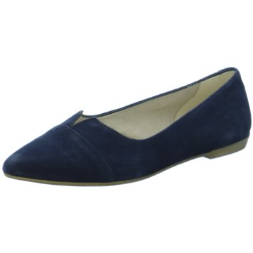 Vagabond Modische Slipper blau