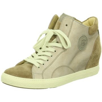 Paul Green Sneaker Wedges beige