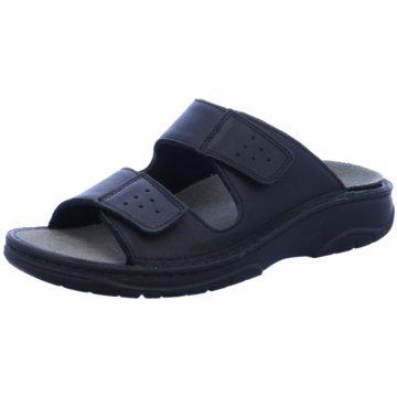 berkemann Komfort Sandale schwarz