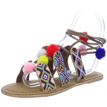 Buffalo Modische Sandaletten bunt